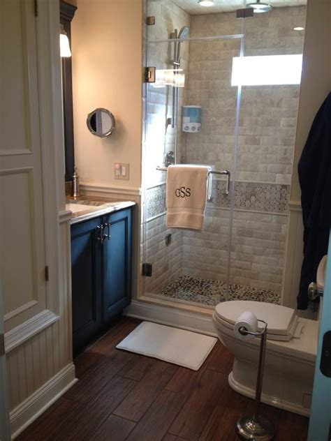 Stand Up Shower Ideas For Small Bathrooms by Big Designs For A Small Bathroom Bathroom Reno Ideas