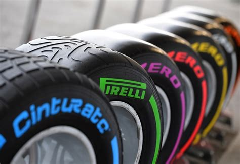 Pirelli Considers Name Changes For F1 Tyres