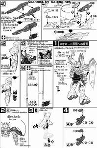 Hg Wing Gundam Zero English Manual  U0026 Color Guide