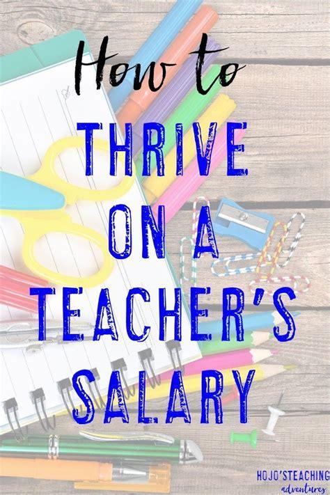 how to thrive on a s salary hojo s teaching 722 | d4d0d1422c090eeba64f597019394e24