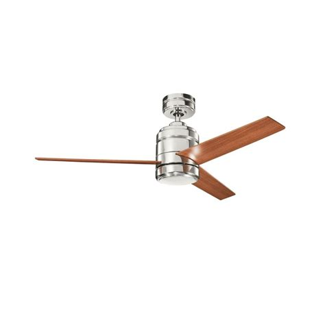 kichler ceiling fans remote control not working kichler 300146pn polished nickel 38 quot indoor ceiling fan