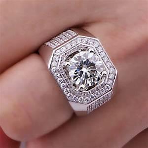 Mens Imitation Diamond Rings | Wedding, Promise, Diamond ...