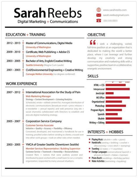   Reuse, Revamp, Résumé   Resume, Infographic, Data ...