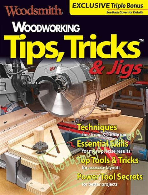 woodsmith special woodworking tips tricks jigs