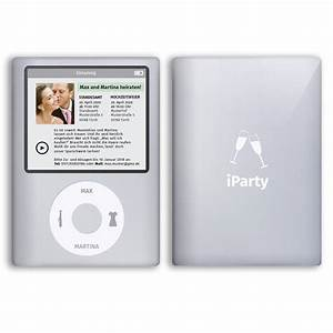 Mp3 Player Musik : einladungskarten zur hochzeit als mp3 player musik einladung ebay ~ Watch28wear.com Haus und Dekorationen