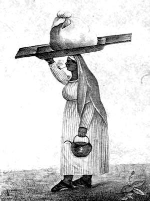 lavandera de epoca colonial los esclavos usaban la ropa