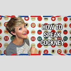 How To Speak Cockney  Anglophenia Ep 36 Youtube