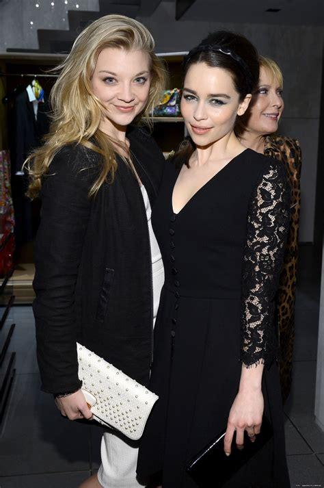 Natalie Dormer and Emilia Clarke - Imgur | Natalie dormer ...