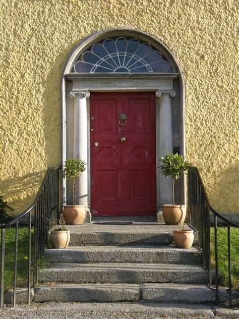Doors Front Of House by Front Door Griesemount House