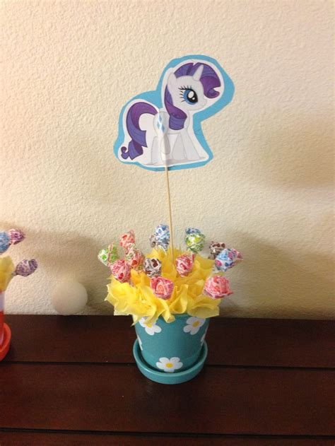 my little pony table rarity my little pony table decoration my creations