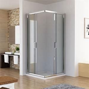 Duschtür 80 Cm : 80x80x195 cm eckeinstieg duschkabine schiebet r dusche duschkabinen duscht r echtglas hbf 80 4 ~ Orissabook.com Haus und Dekorationen