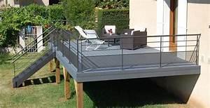 Terrasse En Bois Composite Prix : terrasse en bois suspendue prix 2 terrasse sur pilotis ~ Edinachiropracticcenter.com Idées de Décoration