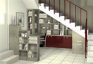 Aménagement Sous Escalier : amenagement placard sous escalier mesure advice for your home decoration ~ Preciouscoupons.com Idées de Décoration