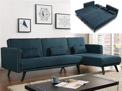 canapé bleu canard canapé modulable et convertible tissu bleu canard calobra