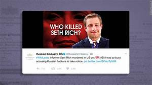 Russian embassy promotes conspiracy theory on DNC staffer ...
