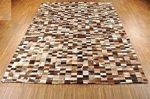 Kuhfell Teppich Weiß : kuhfell teppich braun schwarz weiss 192 x 145 cm patchwork ~ Yasmunasinghe.com Haus und Dekorationen