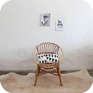Chaise Enfant Rotin : meuble vintage fauteuil rotin vintage atelier du petit parc ~ Teatrodelosmanantiales.com Idées de Décoration