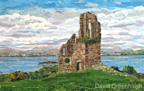 david greenhalgh torn paper collage artist  plymouth