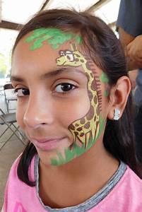 Make Up Ideen : giraffe schminken schminkvorlagen ideen ~ Buech-reservation.com Haus und Dekorationen