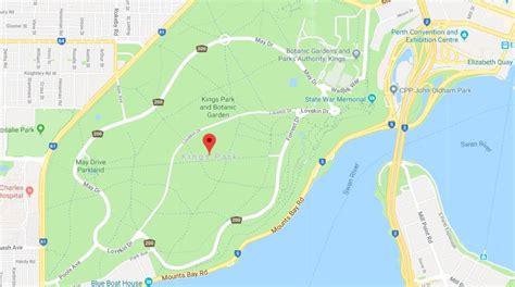 map  kings park