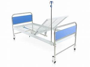 Hospital Bed With Manual Crank