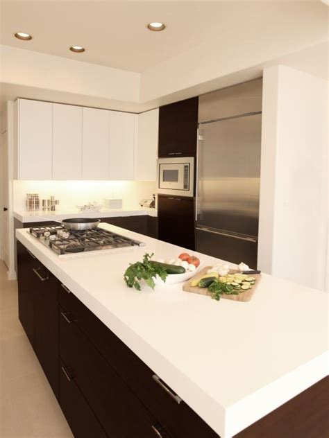 inspired examples  solid surface kitchen countertops hgtv