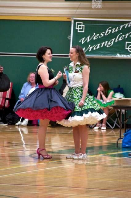 square dance section