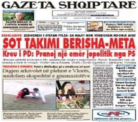 Albanian ePapers list: Albanian online newspapers