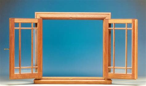 traditionally designed custom wood inswing french casement