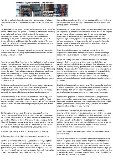 texto traducido en ingles y espa 241 ol 1