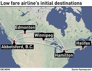 WestJet's discount airline Swoop makes maiden flight from ...
