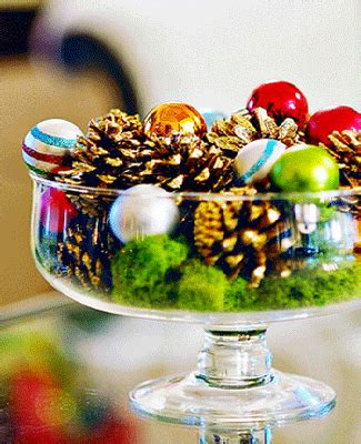 cheap christmas table decorations eco christmas table decorations made of pine cones