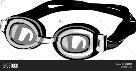 swim goggles clipart black and white swim goggles vector photo bigstock