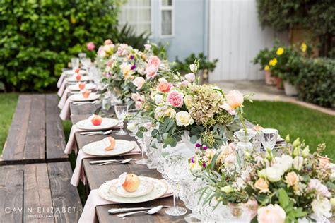 outdoor bridal shower  san diego apple themed shower