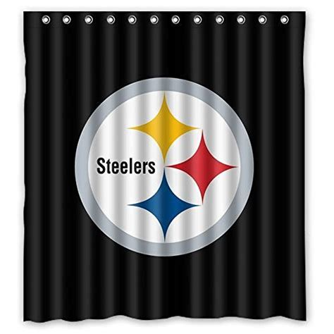 pittsburgh steelers bathroom set steelers shower curtains pittsburgh steelers shower