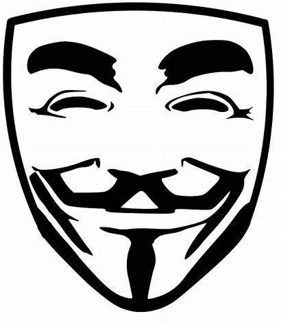 Hacker Anonymous Vector Transparent Face Hacking Mask