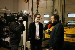 German TV crew on campus to film WWU's Vehicle Research ...