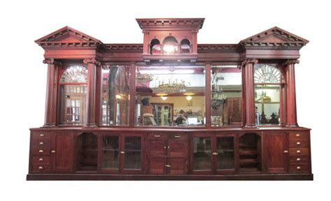 antique back bar antique 22 mahogany back bar free shipping with in 600 1254
