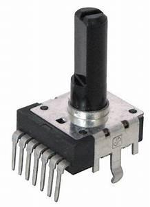 100k Audio Taper Dual Pot  Pc Mount