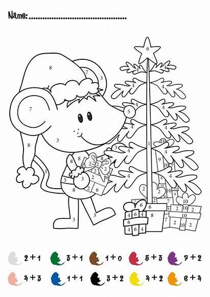 Math Christmas Addition Activity Kindergarten Pre Worksheets
