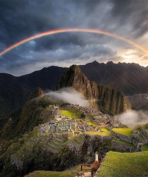 Machu Picchu Peru Landscape And Sky Pinterest
