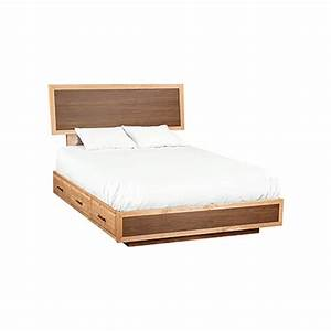 Whittier Addison Modern Storage Bed with Adjustable Height