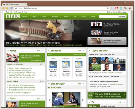 New Bbc Web Design  Rapid Web Ltd