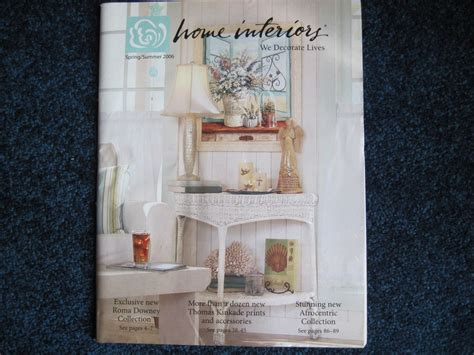 home interiors ebay home interiors gifts summer 2006 catalog brochure