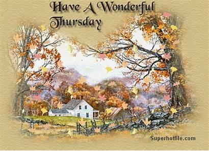 Thursday Wonderful Happy Fall Greetings Friend Seniorennet