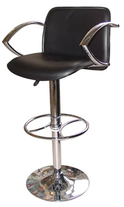 Black Bar Stools With Arms by Kitchen Bar Breakfast Bar Stools With Arm Rests Chrome