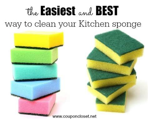 best kitchen sponge how to clean kitchen sponge in one easy step closet