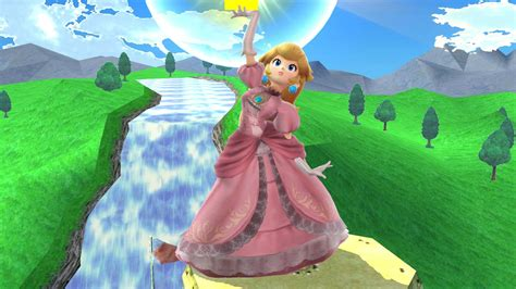 brawl peach super smash bros  wii  skins peach