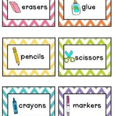 the 25 best chevron labels ideas on free 491   987a102f7a9e26031f103b5243a34b73 preschool classroom decor classroom labels