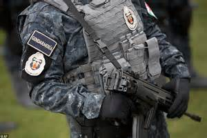 Mexico Special Forces Police